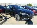2017 Shadow Black Ford Fusion SE  photo #1