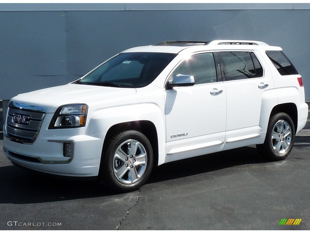 2017 Summit White Gmc Terrain Denali Awd 115759077