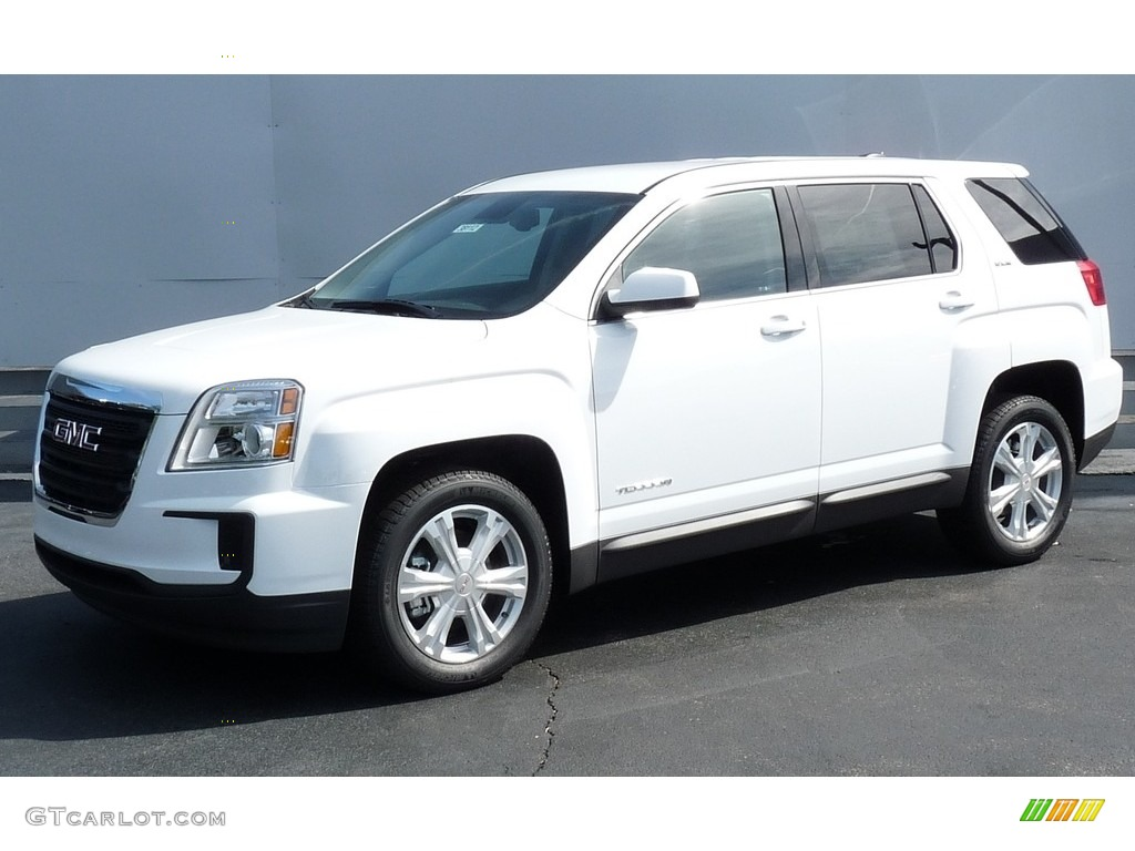 2017 Summit White Gmc Terrain Sle Awd 115759076