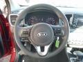 2017 Sportage LX AWD Steering Wheel