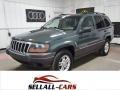 Onyx Green Pearlcoat 2002 Jeep Grand Cherokee Laredo 4x4