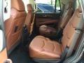2016 Cadillac Escalade Kona Brown/Jet Black Interior Rear Seat Photo