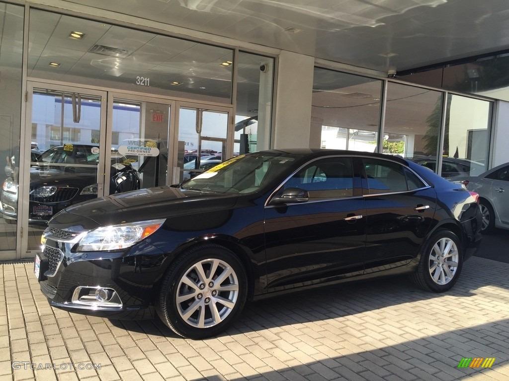 2016 Black Chevrolet Malibu Limited Ltz 115790404