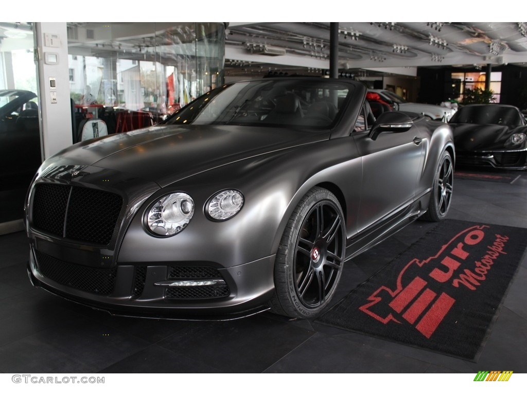 2013 anthracite metallic bentley continental gtc v8 115790329 photo 20 car. Black Bedroom Furniture Sets. Home Design Ideas