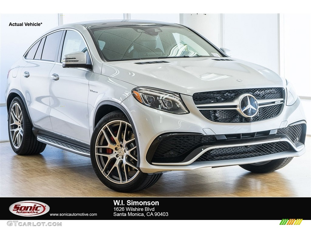 2017 iridium silver metallic mercedes benz gle 63 s amg for 2017 amg gle 63 mercedes benz