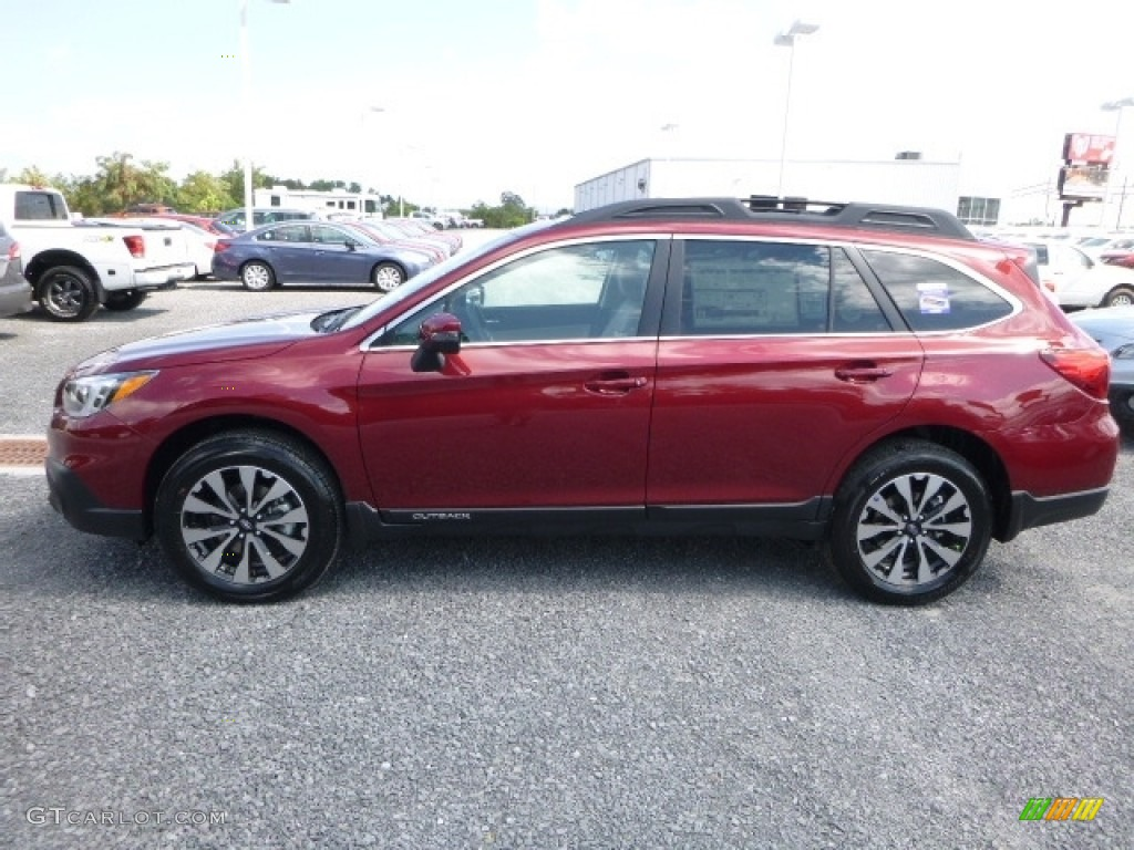 2017 Outback 2 5i Limited Venetian Red Pearl Warm Ivory Photo 11