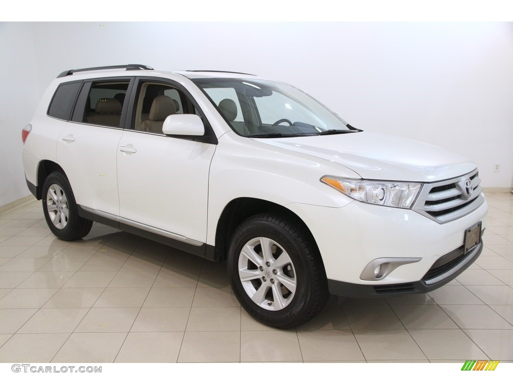 2013 blizzard white pearl toyota highlander se 4wd 115813157 photo 13 car. Black Bedroom Furniture Sets. Home Design Ideas
