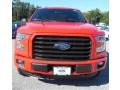 2016 Race Red Ford F150 XLT SuperCab 4x4  photo #2