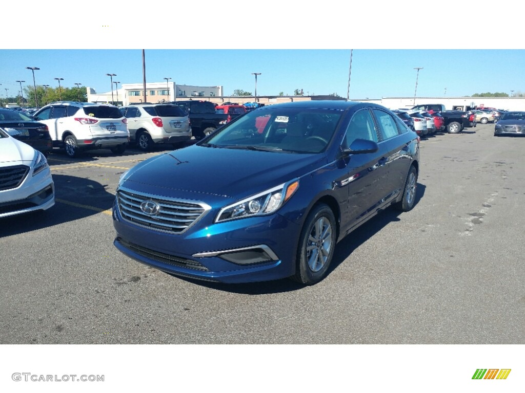 Lakeside Blue Hyundai Sonata