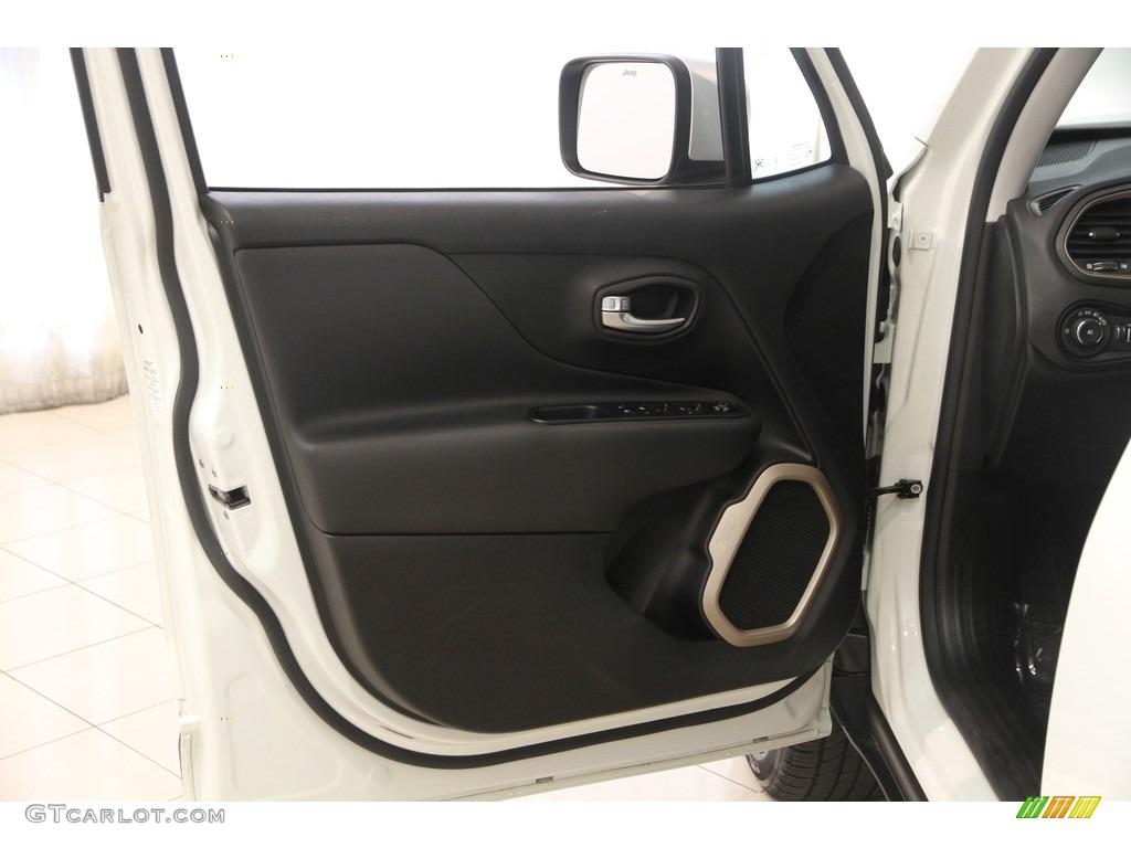 2016 Renegade Limited 4x4 - Alpine White / Black photo #4