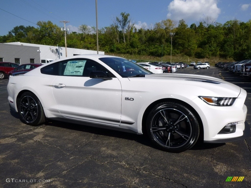 2017 Mustang Gt California Speical Coupe White Platinum Special Ebony Leather Miko