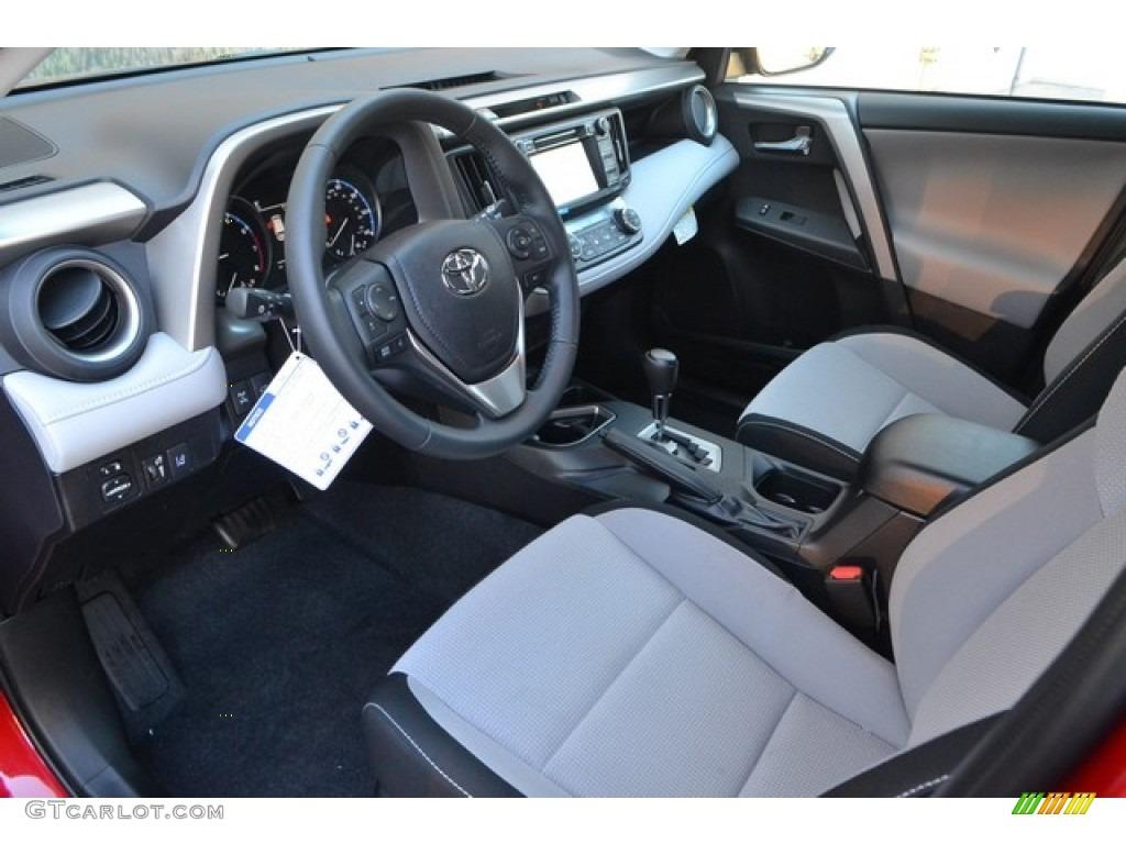 Ash Interior 2017 Toyota RAV4 XLE AWD Photo #115872642