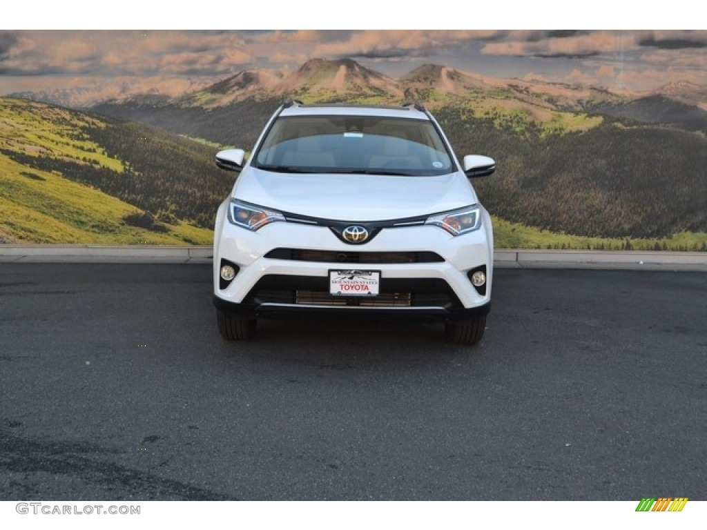 2017 super white toyota rav4 xle awd 115868225 photo 2 car color galleries. Black Bedroom Furniture Sets. Home Design Ideas