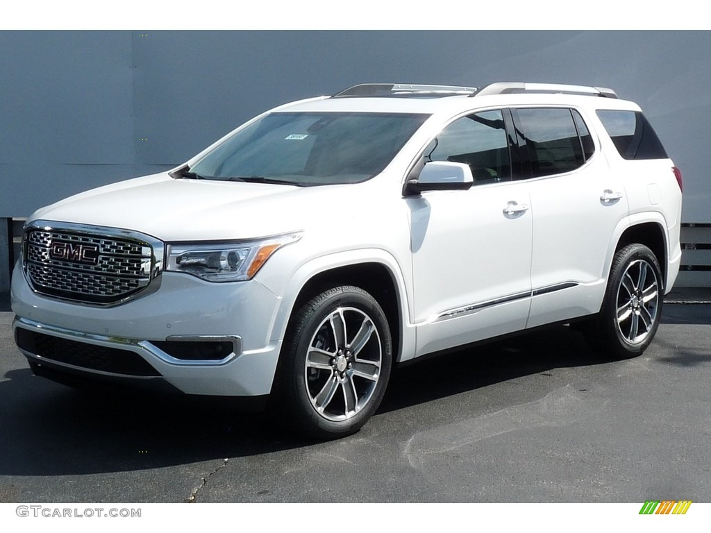 2017 white frost tricoat gmc acadia denali awd 115868537 car color galleries. Black Bedroom Furniture Sets. Home Design Ideas