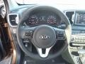 Black Steering Wheel Photo for 2017 Kia Sportage #115889877