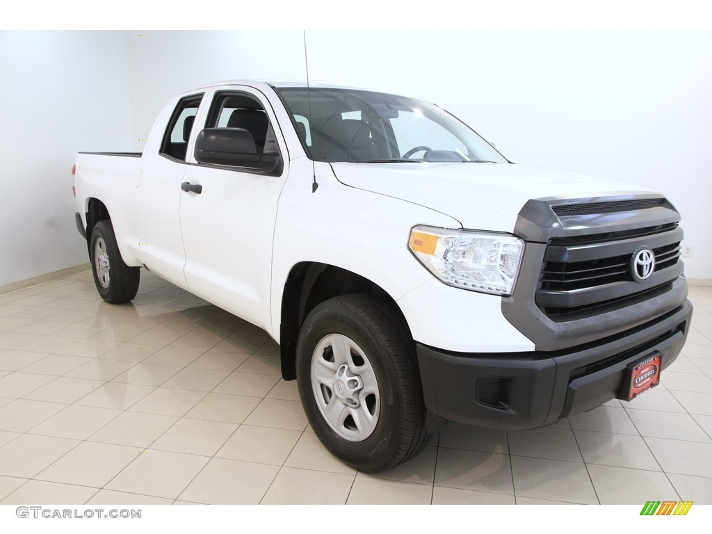 2016 Tundra SR Double Cab 4x4 - Super White / Graphite photo #1