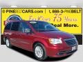 Deep Cherry Red Crystal Pearl 2013 Chrysler Town & Country Limited