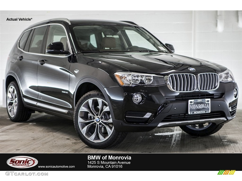 2017 Black Shire Metallic Bmw X3 Sdrive28i 115969590