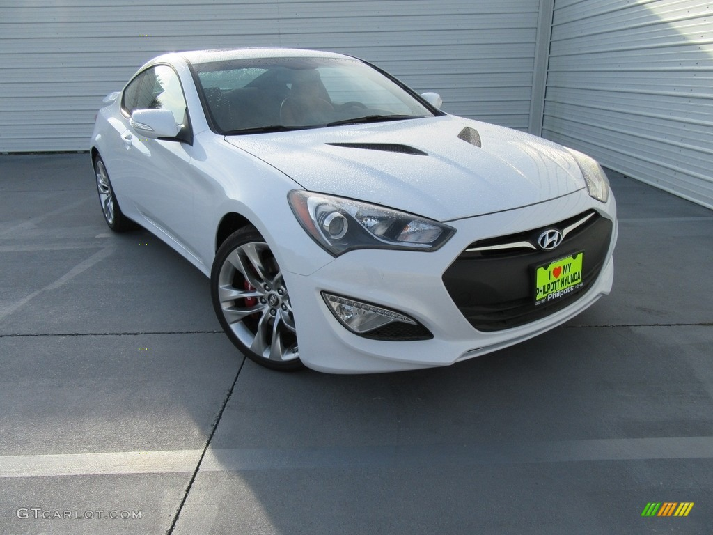 2016 casablanca white hyundai genesis coupe 3 8 ultimate 115973682 photo 18. Black Bedroom Furniture Sets. Home Design Ideas