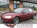 2002 Dark Garnet Red Pearl Chrysler Sebring LXi Sedan #11587014