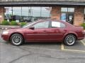 2002 Dark Garnet Red Pearl Chrysler Sebring LXi Sedan  photo #2