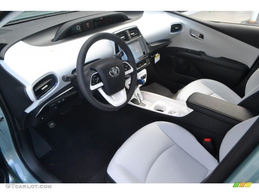 2017 sea glass pearl toyota prius prius four touring 115992086 photo 5 car for Toyota prius moonstone interior