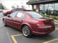 2002 Dark Garnet Red Pearl Chrysler Sebring LXi Sedan  photo #3