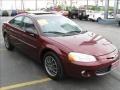 2002 Dark Garnet Red Pearl Chrysler Sebring LXi Sedan  photo #6