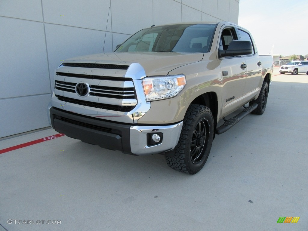 2017 Tundra Sr5 Tss Off Road Crewmax 4x4 Quicksand Black Photo 6