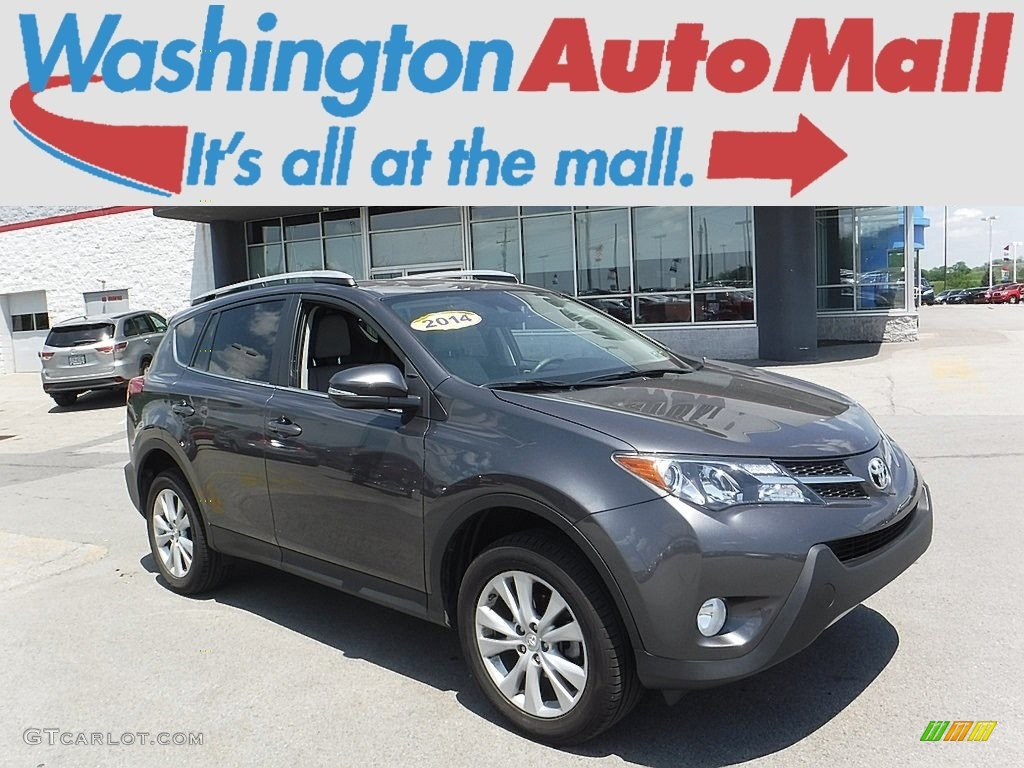 2014 magnetic gray metallic toyota rav4 limited awd. Black Bedroom Furniture Sets. Home Design Ideas