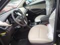 Beige 2017 Hyundai Santa Fe Interiors