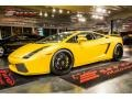Giallo Halys (Yellow) 2004 Lamborghini Gallardo Coupe E-Gear