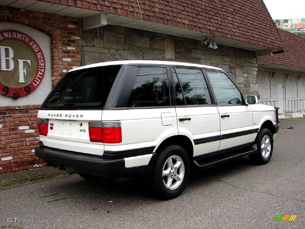 2000 chawton white land rover range rover 4 0 se 11578991 photo 2 car color. Black Bedroom Furniture Sets. Home Design Ideas