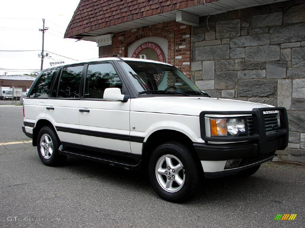 2000 chawton white land rover range rover 4 0 se 11578991. Black Bedroom Furniture Sets. Home Design Ideas