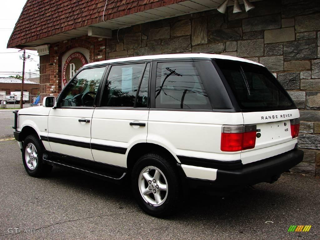 2000 chawton white land rover range rover 4 0 se 11578991 photo 14 car color. Black Bedroom Furniture Sets. Home Design Ideas