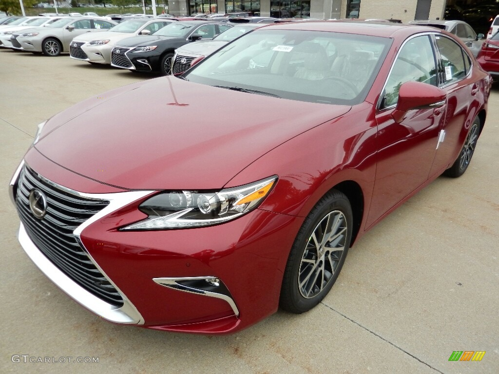 2017 matador red mica lexus es 350 116020965 car color galleries. Black Bedroom Furniture Sets. Home Design Ideas