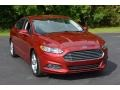 2016 Ruby Red Metallic Ford Fusion SE #116051238
