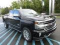 Black 2017 Chevrolet Silverado 1500 High Country Crew Cab 4x4 Exterior