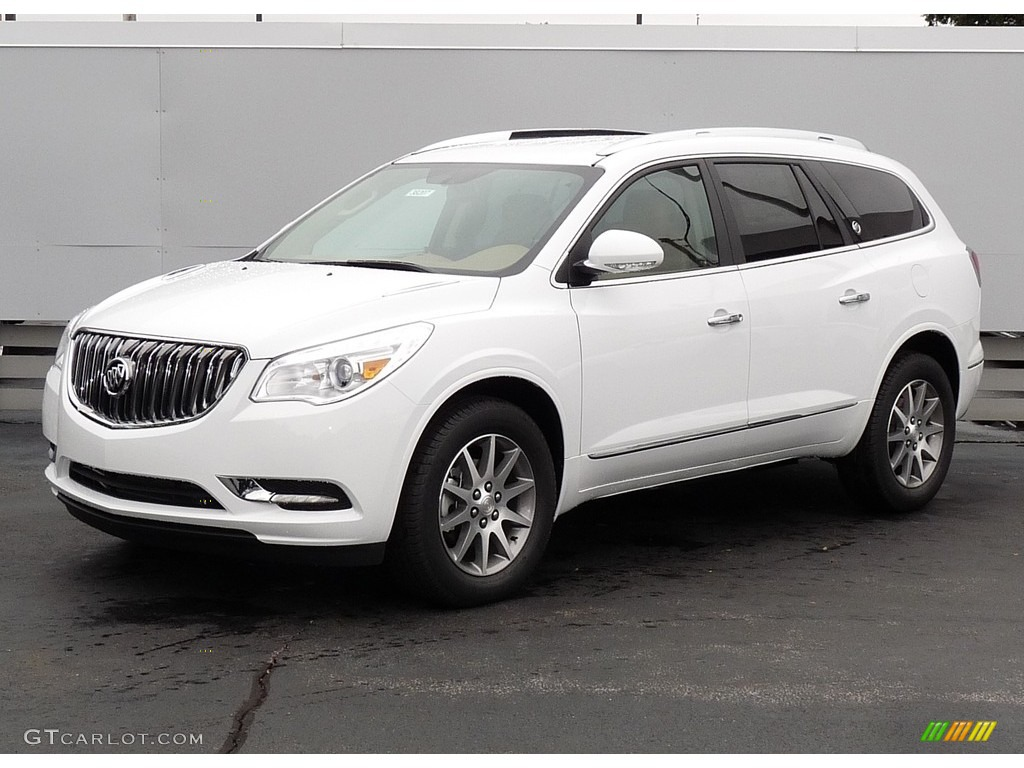 2017 Summit White Buick Enclave Leather Awd 116076402 Car Color Galleries