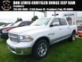 2017 Bright White Ram 1500 Laramie Crew Cab 4x4 #116076168