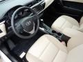2016 Corolla LE Ivory Interior