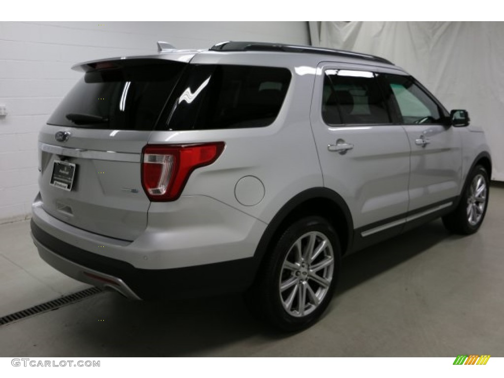 2016 Explorer Limited 4WD - Ingot Silver Metallic / Ebony Black photo #39