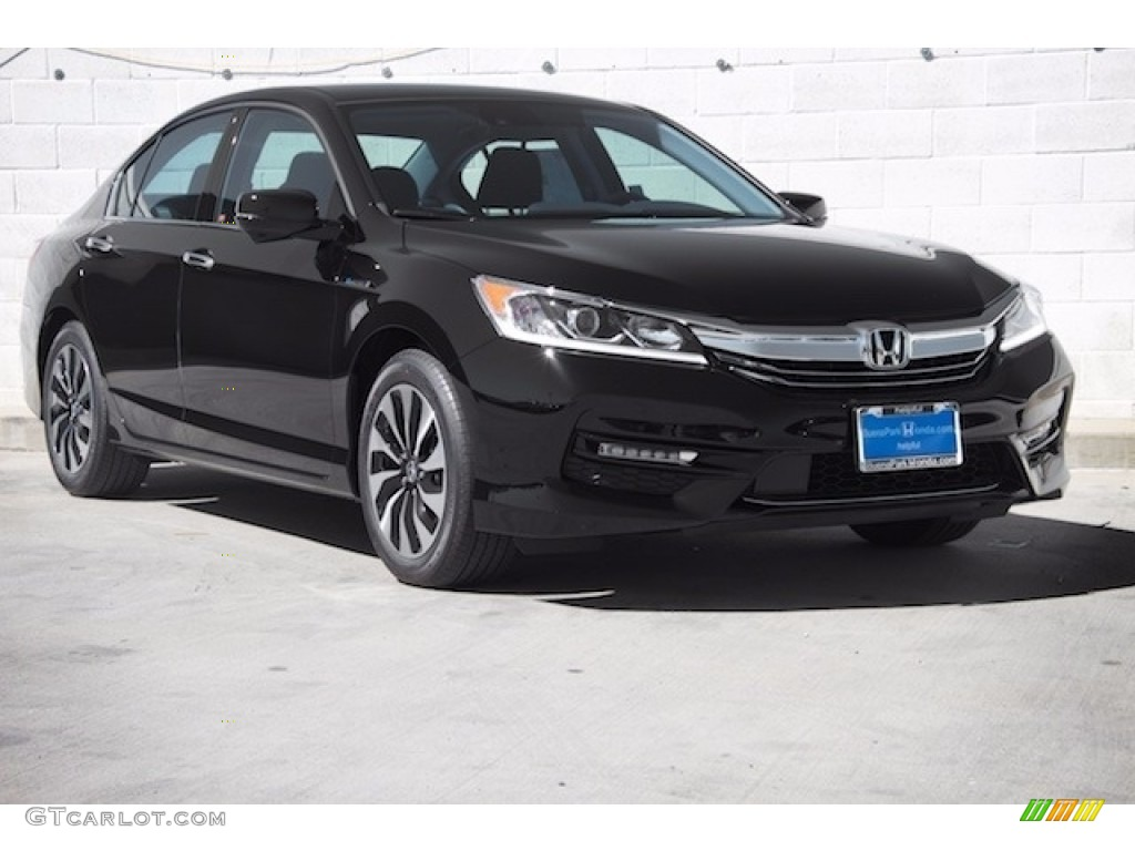 2017 Crystal Black Pearl Honda Accord Hybrid Sedan ...