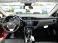 Dashboard of 2017 Corolla LE