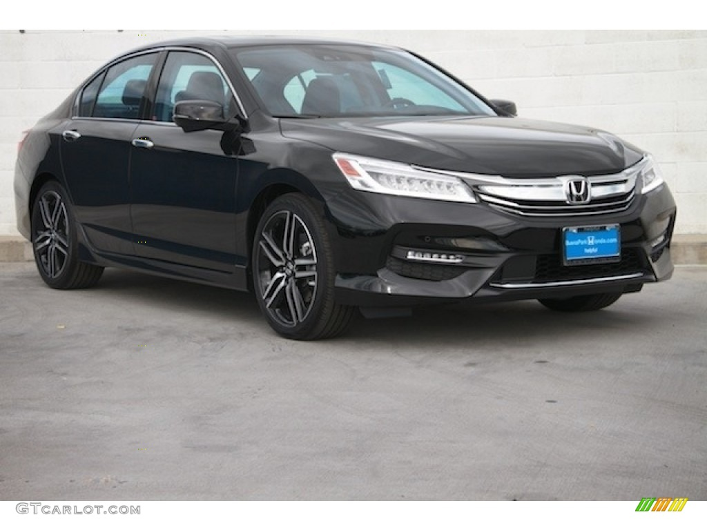 2017 crystal black pearl honda accord touring sedan. Black Bedroom Furniture Sets. Home Design Ideas