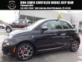 Nero (Black) 2013 Fiat 500 Turbo
