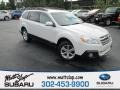 Satin White Pearl 2014 Subaru Outback 2.5i Limited