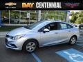 Arctic Blue Metallic 2017 Chevrolet Cruze LS