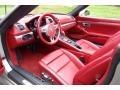 Carrera Red Natural Leather Interior Photo for 2013 Porsche Boxster #116152769