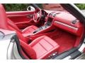Carrera Red Natural Leather Dashboard Photo for 2013 Porsche Boxster #116152811